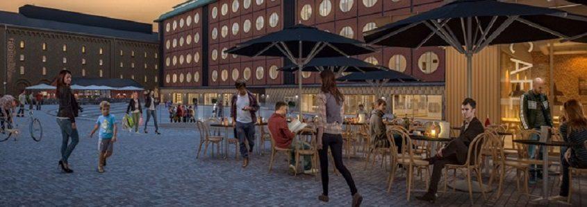 I Carlsberg Byen har de allerede mærket et dyk i efterspørgslen efter luksuslejligheder. Spørgsmålet er, hvor dybt den trend stikker(PR)