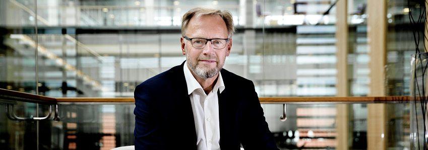 Anders Dam. Dir. Jyske Bank. Jubilæumsinterview. Foto: Jakob Stigsen Andersen
