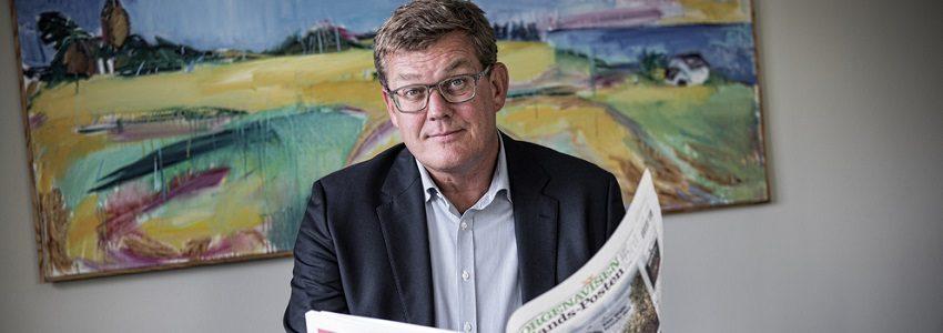 JACOB NYBROE Ansv. chefredaktør MORGENAVISEN Jyllands-Posten